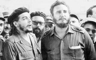 Ο Ερνέστο Τσε Γκεβάρα  (με τον μπερέ) και ο Φιντέλ Κάστρο οργάνωσαν αντάρτικο στη ζούγκλα, στα νοτιοανατολικά της Κούβας, το 1956. Τρία χρόνια μετά, μπήκαν θριαμβευτές στην Αβάνα.