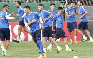 Η Εθνική ετοιμάζεται για τον σαββατιάτικο αγώνα στις Ν. Φερόε.