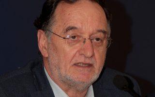 Ο υπουργός Παραγωγικής Ανασυγκρότησης, Περιβάλλοντος και Ενέργειας Π. Λαφαζάνης.