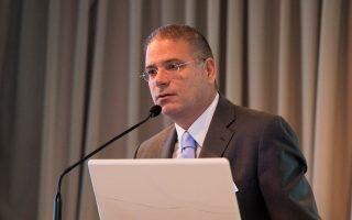 Πρώτο CSR Connecting Day από το Ιδρυμα Μποδοσάκη και το Ινστιτούτο Επικοινωνίας. Στη φωτ. ο πρόεδρος του Ινστιτούτου Επικοινωνίας, Ντίνος Αδριανόπουλος.
