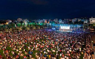 Περισσότεροι από 12.000 Αθηναίοι κατέκλυσαν τον νέο προορισμό της πρωτεύουσας κατά τη διάρκεια της πρώτης ημέρας των εκδηλώσεων, που ολοκληρώνονται απόψε.