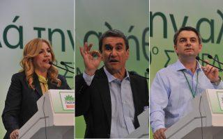 Η Φώφη Γεννηματά, ο Ανδρέας Λοβέρδος ή ο Οδυσσέας Κωνσταντινόπουλος θα βρεθεί στην προεδρία του ΠΑΣΟΚ σήμερα ή την επόμενη Κυριακή (εφόσον απαιτηθεί δεύτερος γύρος ανάμεσα στους δύο με τα υψηλότερα ποσοστά).