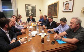 Υπό την προεδρία του Ευάγγελου Βενιζέλου συνεδρίασε η Κοινοβουλευτική Ομάδα του ΠΑΣΟΚ.