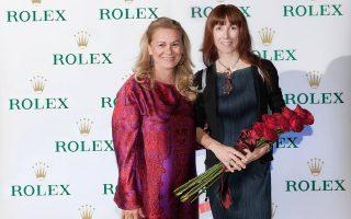 Σοφία Βαχάρη-Τσουβελεκάκη και Sylvie Guillem