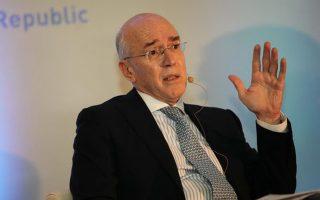 O πρώην εκπρόσωπος της Ελλάδας στο ΔΝΤ, κ. Παναναγιώτης Ρουμελιώτης.
