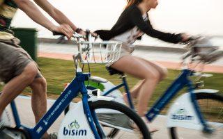 Ποδήλατα του... δήμου. (Φωτογραφία: ΔΗΜΗΤΡΗΣ ΒΛΑΪΚΟΣ)