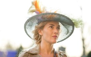 Kate Winslet, Matthew Schoenaerts and Alan Rickman star in the romantic drama film 'A Little Chaos'.<P><noscript><img width=