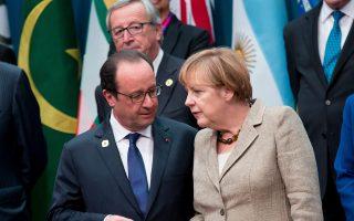 Απέναντι στην Αγκελα Μέρκελ, τον Φρανσουά Ολάντ, τον Ζαν-Κλοντ Γιουνκέρ και τους υπόλοιπους Ευρωπαίους ηγέτες θα βρεθεί αύριο ο πρωθυπουργός Αλέξης Τσίπρας.