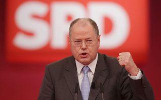 O σοσιαλδημοκράτης πρώην υπουργός Οικονομικών, Πεερ Σταϊνμπρουκ