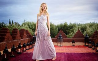 Poppy Delevingne appears in this new fashion campaign for Monsoon.The 28-year-old model, the sister of Cara Delevingne, returned to Marrakesh, and the setting for her wedding to shoot the ads, which feature the brand's spring/summer 2015 collection.It includes patterned dresses, cropped trousers and statement cardigans. It is the first time Poppy has been the face of the UK brand. She wed 35-year-old James Cook in May 2014 in two ceremonial; one in London and the other at The Beldi Country Club in Marrakesh, Morocco.  The images were shot by Emma Summerton.*Mandatory credit Splash/Monsoon/Emma Summerton* <P><noscript><img width=