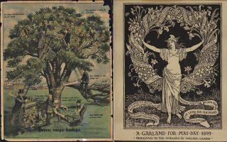 Aριστερά: «Μία γιρλάντα για την Πρωτομαγιά» (1985). Δεξιά: «Αρρώστιες και εγκλήματα» των Nedeljkovich, Brashich και Kuharich. Κλίβελαντ 1912. Από τη Συλλογή Labadie του Πανεπιστημίου Μίσιγκαν.