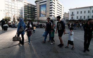 Πολλοί από τους μετανάστες φοβούνται να απογραφούν αφού θέλουν να συνεχίσουν το ταξίδι τους στην Ευρώπη.