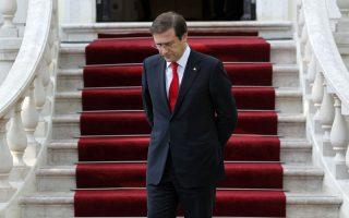 Ο Πορτογάλος πρωθυπουργός Πέδρο Πάσος Κοέλιο.