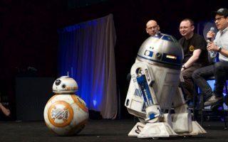 Από την παρουσίαση του «Πολέμου των Αστρων» στη φετινή Comic-Con.