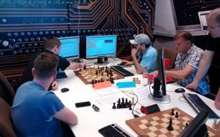 Ο Ν. Παπαχρήστος συμμετείχε με τον «Παλαμήδη» στον 18ο παγκόσμιο διαγωνισμό επιτραπέζιων παιχνιδιών για υπολογιστές.