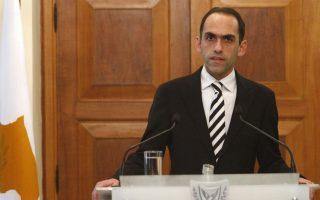 Ο Κύπριος υπουργός οικονομικών, Χαρης Γεωργιάδης.