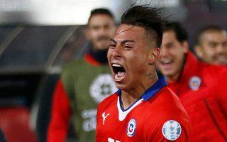Το δεύτερο γκολ του Βάργας κόντρα στο Περού (2-1), έστειλε τη Χιλή στον τελικό του Κόπα Αμέρικα.