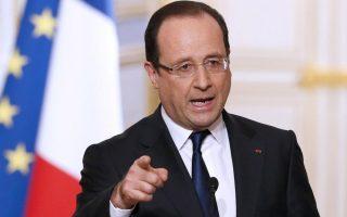 Ο πρόεδρος της Γαλλίας Φρανσουά Ολάντ, ο οποίος προχθές είχε ζητήσει «συμφωνία άμεσα», χθες δήλωσε ότι, αν επικρατήσει το ΟΧΙ στο δημοψήφισμα της Κυριακής, θα εισέλθουμε «σε άγνωστο έδαφος»