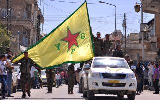 Η προέλαση των κουρδικών στρατιωτικών δυνάμεων που μάχονται το «Ισλαμικό Κράτος» εντός συριακού εδάφους προβληματίζει την Αγκυρα.