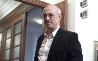Ο αναπληρωτής υπουργός Οικονομικών Δημ. Μάρδας.