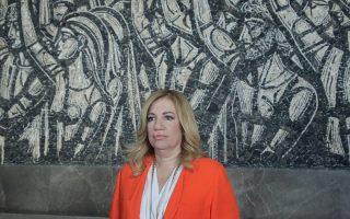 Η κ. Φώφη Γεννηματά, η οποία σήμερα θα βρίσκεται στη Θεσσαλονίκη.