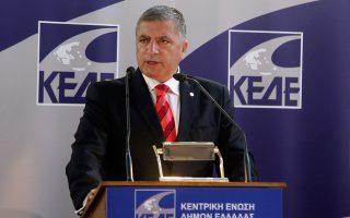 Ο πρόεδρος της ΚΕΔΕ κ. Γιώργος Πατούλης.
