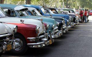 Τα ωραία αυτοκίνητα της δεκαετίας του '50, όταν στα ραδιόφωνά τους ακούγονταν ο Μπιλ Χάλεϊ και οι Κομήτες του. Το ροκ εν ρολ μόλις είχε γεννηθεί.