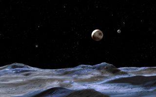 Εγχρωμες φωτογραφίες του Πλούτωνα από το σκάφος New Horizons.