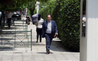 Ο αναπληρωτής υπουργός Υποδομών Χρήστος Σπίρτζης.