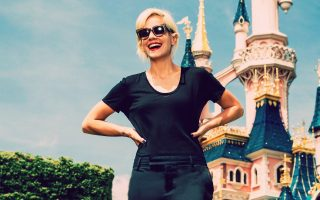EXCLUSIVE: Lily Allen at Disneyland Paris-Marne La Vallee , France on June 20, 2015.<P><noscript><img width=