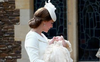 The Christening of Princess Charlotte at The Church of St Mary Magdalene, Sandringham, Norfolk, UK on the 5th July 2015.Picture by Chris Jackson/WPA-Pool<P><noscript><img width=