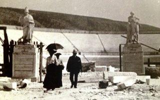 Ξένοι επισκέπτες στο Παναθηναϊκό Στάδιο.