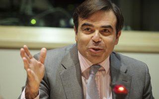Ο εκπρόσωπος της Ευρωπαϊκής Επιτροπής, Μαργαρίτης Σχοινάς.