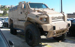 Εντοπίστηκαν 16 τεθωρακισμένα οχήματα με προορισμό λιμάνι της Λιβύης.