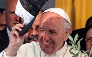 Ο Πάπας Φραγκίσκος, κατά την επίσκεψή του στο Μπανάντο Νόρτε, για μία ακόμα φορά βρέθηκε κοντά στους φτωχούς της Γης.