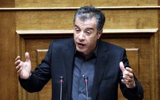 Ο επικεφαλής του Ποταμιού, Στ. Θεοδωράκης.