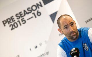 Ο ΠΑΟΚ παρουσίασε τον νέο προπονητή του από το προπονητικό κέντρο στην Ολλανδία.