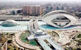 Η Πόλη των Τεχνών και των Επιστημών έχει εξελιχθεί σε βασικό αξιοθέατο της Βαλένθια του 21ου αιώνα.