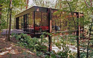 Στο διασημότερο σπίτι που σχεδίασε ο Speyer στις ΗΠΑ γυρίστηκε η ταινία «Ferris Bueller's Day Off».