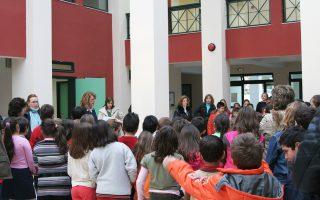 H Mαριλένα Λασκαρίδη και η σύμβουλος Kαλή Kυπαρίσση έδωσαν μεγάλη έμφαση στα εκπαιδευτικά προγράμματα του Iδρύματος «Aικατερίνη Λασκαρίδη» που παρακολουθούν κάθε χρόνο 25.000 παιδιά.