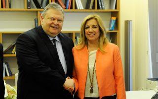 Ο κ. Βενιζέλος δεν παρέστη στην Κ.Ο. του ΠΑΣΟΚ, την οποία συγκάλεσε χθες η κ. Γεννηματά για να συζητηθεί η στάση του κόμματος.