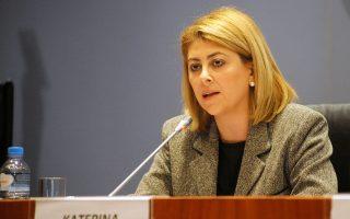Διευκρινίσεις έδωσε η γενική γραμματέας Δημοσίων Εσόδων Κατερίνα Σαββαΐδου.