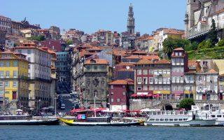 Το Πόρτο στη βόρεια Πορτογαλία έχει αρχίσει και αναπτύσσεται.