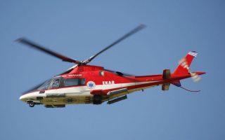 Το μοναδικό ελικόπτερο του ΕΚΑΒ δεν μπορεί να πετάξει καθώς δεν βρέθηκαν κονδύλια για το σέρβις του.