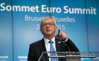 Ο πρόεδρος της Κομισιόν Ζαν-Κλοντ Γιουνκέρ άφησε ανοιχτό και το ενδεχόμενο να απαιτηθεί νέα χρηματοδότηση-γέφυρα προς την Ελλάδα.