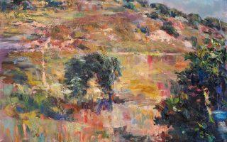 Τρία από τα έργα που παρουσιάζει ο Ανδρέας Κοντέλλης στην έκθεση με τίτλο «Λήμνος» στη Μύρινα (από 7/8). Μαζί με την έκθεση εγκαινιάζεται και ο χώρος τέχνης «Αποθήκη».