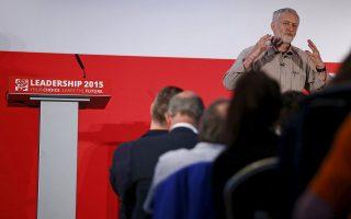O Τζέρεμι Κόρμπιν εκφράζει τη στροφή των υποστηρικτών του Εργατικού Κόμματος προς ριζοσπαστικές ιδέες, ενώ στηρίζεται από τα μεγαλύτερα συνδικάτα και από τις περισσότερες τοπικές οργανώσεις.