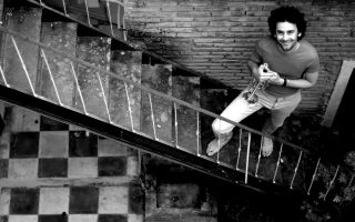 O Ανδρέας Πολυζωγόπουλος είναι από τους νέους αλλά καταξιωμένους μουσικούς της τζαζ στη χώρα μας, με προσωπική δισκογραφία και συναυλιακή παρουσία σε Ευρώπη και Αμερική (φωτο Γιώργος Φραγκίσκος).