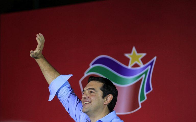 Αισιόδοξος ο Τσίπρας για το αποτέλεσμα των εκλογών