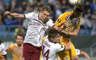 Στο 1-1 έμεινε ο Αστέρας με τη Σπάρτα Πράγας στην Τρίπολη.